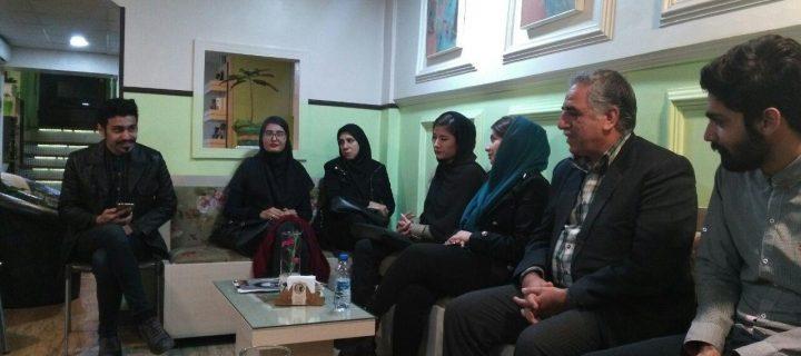 نشست ادبی با غلامعباس ساعی در مشهد